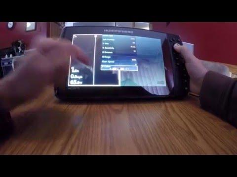 humminbird helix 10 si - youtube, Fish Finder