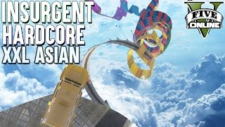 INSURGENT HARDCORE XXL LEVEL ASIAN 🔫 GTA 5 Custom Map 💥 GTA Online LPmitKev