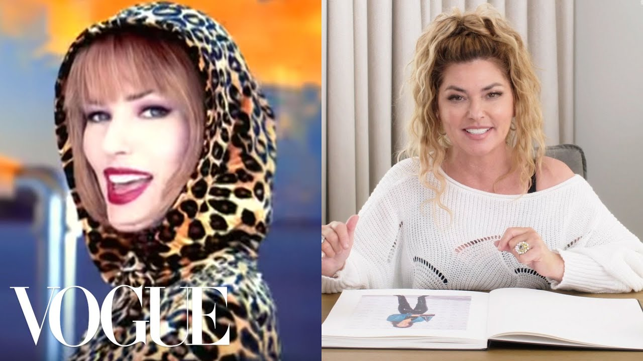 Shania Twain Breaks Down 18 Looks From 1995 to Now | Life in Looks | Vogue