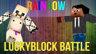 SATEENKAARI POJAT | LuckyBlock Battle /W Röpönen