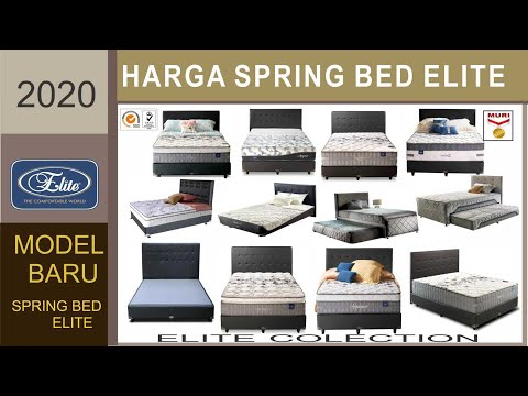Harga Spring bed Elite | New Edition | 2020
