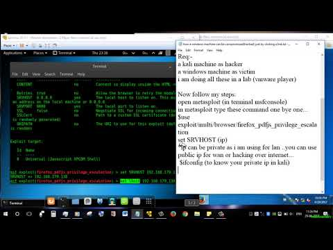 How A Windows Can Be Compromised (Hacked) Just By Clicking A Link -solutionrider