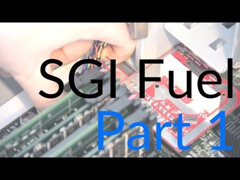 Dodoid's SGI Fuel Part 1 - Power Supply, Dallas Chip, and Serial Port Bodging