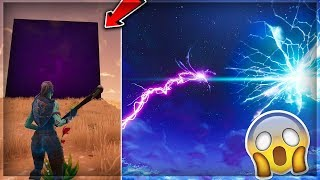 My Live Reaction To The 'CUBE EVENT' in Fortnite Battle Royale! (Fortnite Cube Event Showcase!)