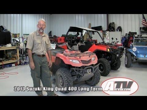 ATV Television - 2013 Suzuki King Quad 400 Long Term Report