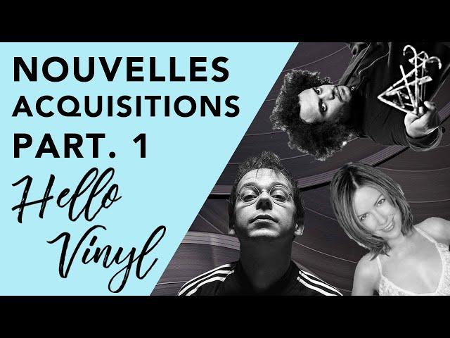 Achats vinyles / Nouveautés Partie 1 - Hello Vinyl