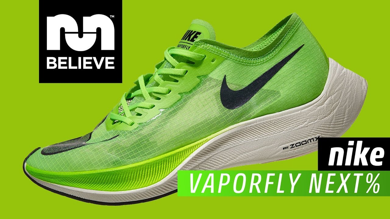 Tendero en cualquier momento Precioso  Nike ZoomX Vaporfly NEXT% Video Performance Review - YouTube