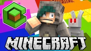 KILLER BUNNIES ARE THE WORST! - The Cube Minecraft SMP Stream Highlights - Ep.2