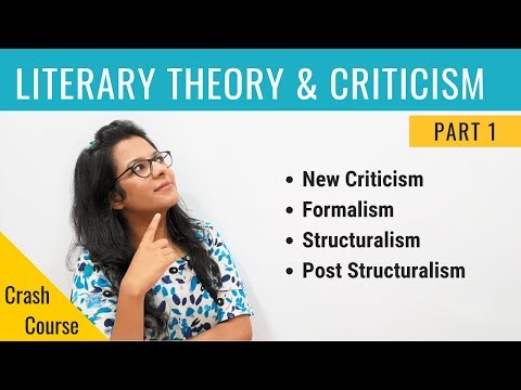 literary-theory-&-criticism:-crash-course-for-ugc-net-english-(part-1)
