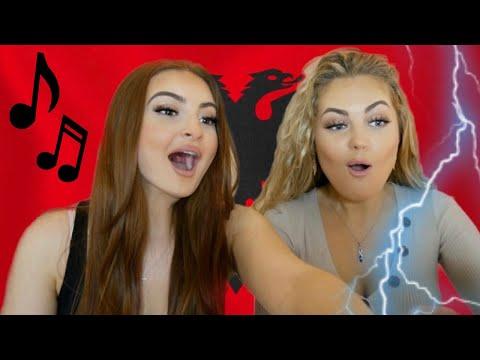 ALBANIAN MUSIC REACTION | Tayna, Butrint, Melinda, Noizy, Ledri, Mozzik