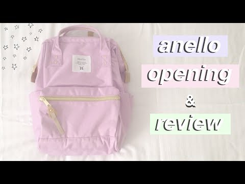 5db8adc7bf Anello backpack opening & review | anellodirect - YouTube