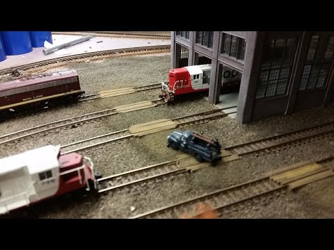 MNW N Scale Model Railroad Monthly Video Journal, May, 2020.