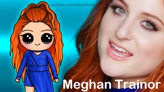 How to Draw Chibi Meghan Trainor step by step