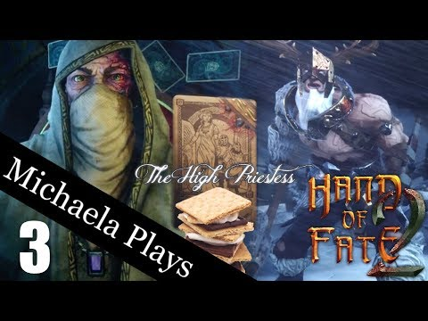 『Michaela Plays』Hand Of Fate 2 - Blessing For Days - Part 3