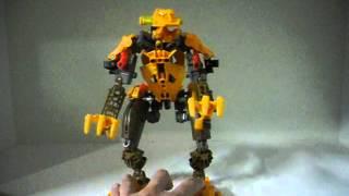 LEGO Bionicle MOC: Grahlok Ash Bear