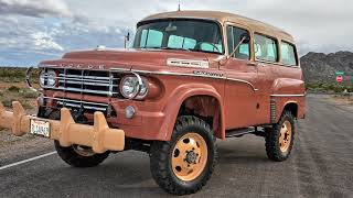 1958 Dodge Town Wagon Power Wagon