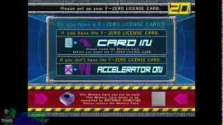 F-Zero AX-Dolphin-EMU - F-Zero-Lizenz Card Set Up-Menü zugegriffen