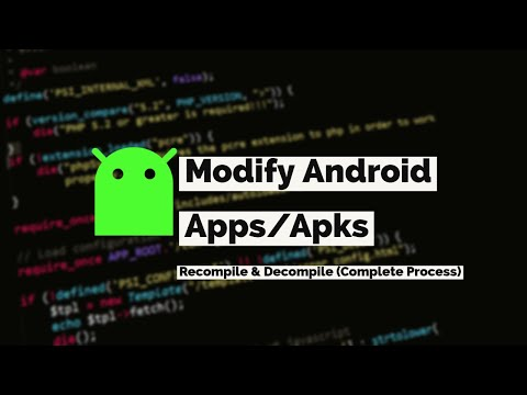 How to Modify Android App? Recompile/Decompile Apk files 2021