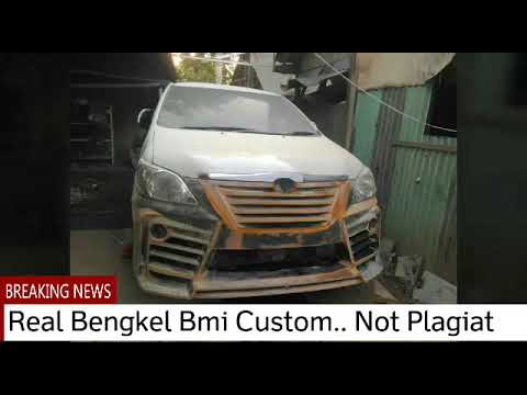 Custom Innova Created Bodykit Mobil Indonesia