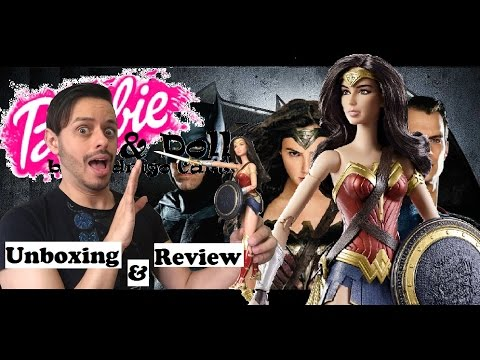 Dawn Of Justice Wonder Woman Doll | Mulher Maravilha | - Unboxing e Review By Rodrigo Carter