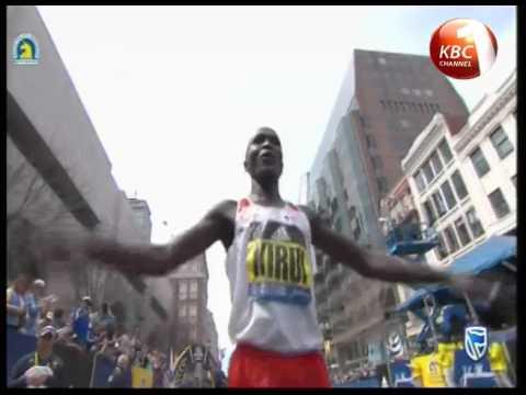 Kirui and Kiplagat are champions of the 2017 Boston Marathon