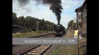 Mit der Dampflok zum Tag der Sachsen nach Kamenz Teil III