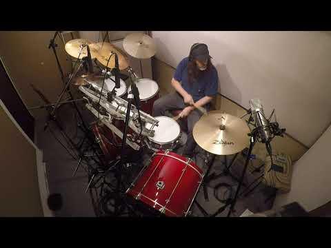 RIPIO - Grabacion de baterias (Drum recording) Track 10 (2019)