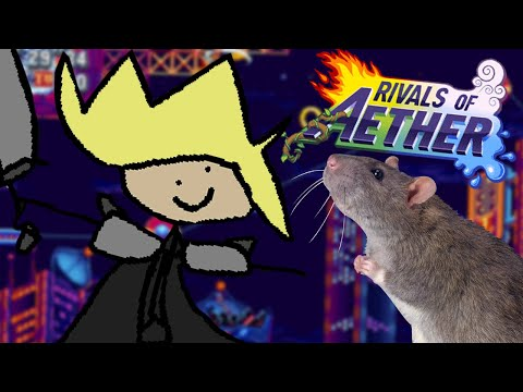 They Put Cloud In Rivals Of Aether?!