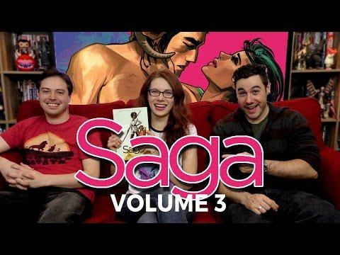 Saga Volume 3 on Back Issues
