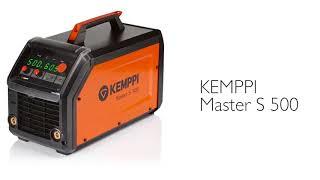 Источник питания Kemppi Master S 500: Обзор