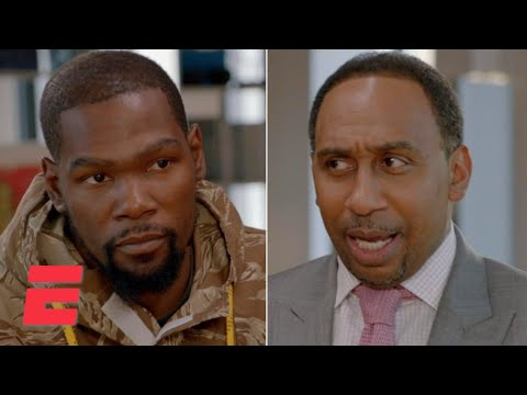 Stephen A. Smith and Kevin Durant clear the air face-to-face on The Boardroom | ESPN+
