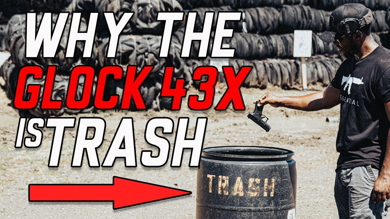 Download Glock 43x First Mag Review | This Gun Was Trash Until...