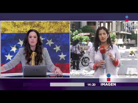 Cómo viven el paro nacional Venezuela | Noticias con Yuriria Sierra