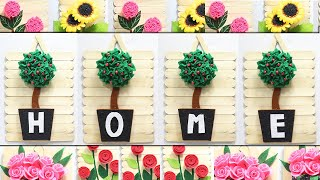 5 Wall hanging craft ideas with popsticks | Home decorating ideas