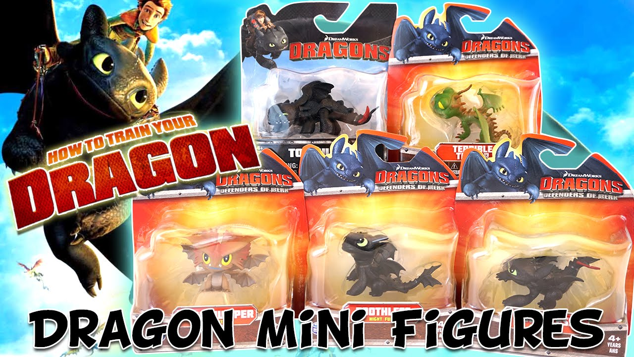 Mini Dragon Cloud Jumper How to Train Your Dragon Defenders of Berk 3/""