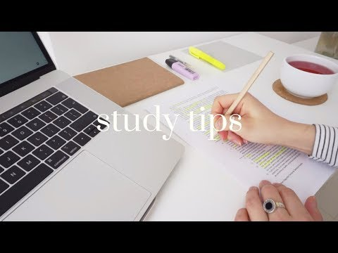 5 Useful Study Tips! // Back to school & college