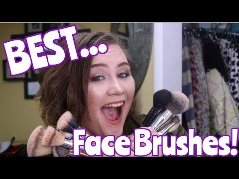 BEST FACE BRUSHES!