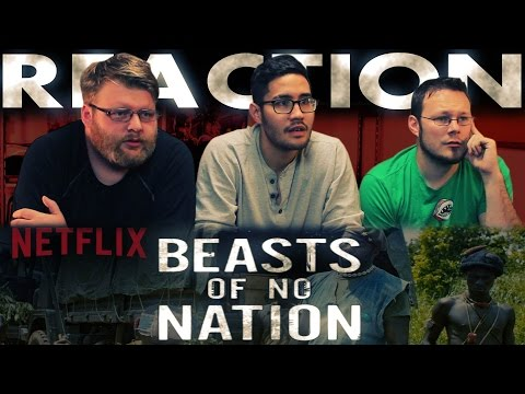 Beasts Of No Nation Trailer REACTION!!