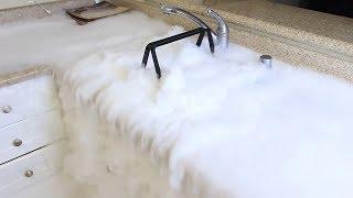 2 kilos de glace sec expérience, C'est tellement incroyable! {2 Pounds of Dry Ice Experiment}