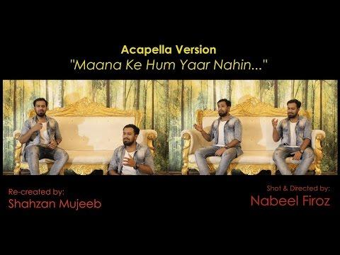 Maana Ke Hum Yaar Nahin   Male Version   Acapella Cover   Meri Pyaari Bindu   Shahzan Mujeeb