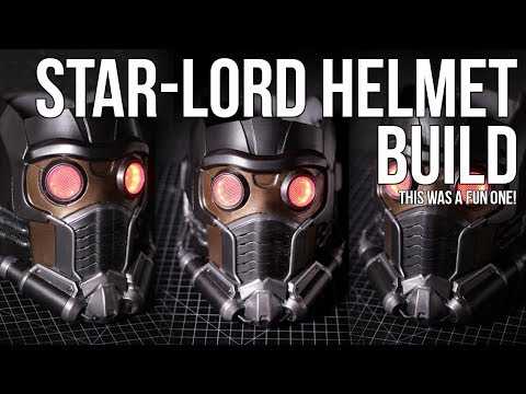 Star-lord Helmet Build [Star-Lord Cosplay from Guardians of the Galaxy]