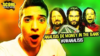 MONEY IN THE BANK 2018 #QWAnálisis