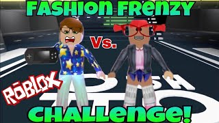 Playing Roblox Fashion Famous With My MOM!!