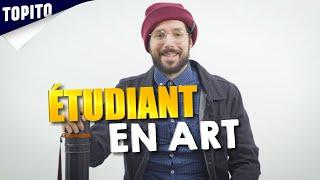 L'étudiant en art