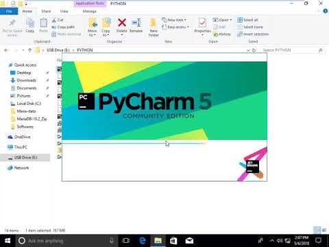 Installing PyCharm Community Edition 20191 on Windows 10 PyCharm