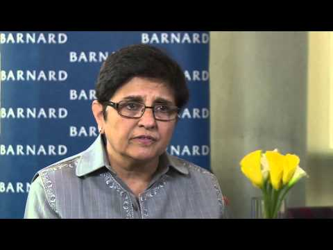 Indian activist Kiran Bedi discusses India's treatment of women