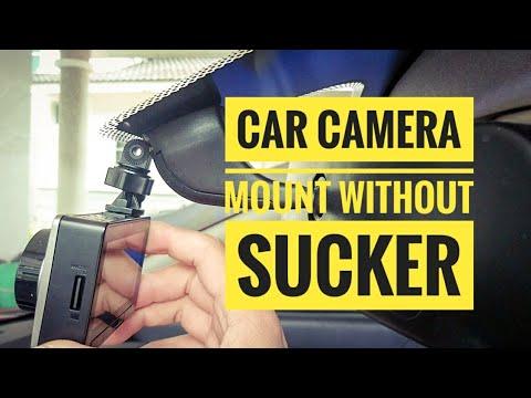 Car Camera Mount Without Sucker Prevent Dashcam Drop XiaoMi XiaoYi Yi Proton | Cars