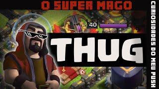 clash of clans   O mago mais insano do clash, esse é filho do chuck norris!