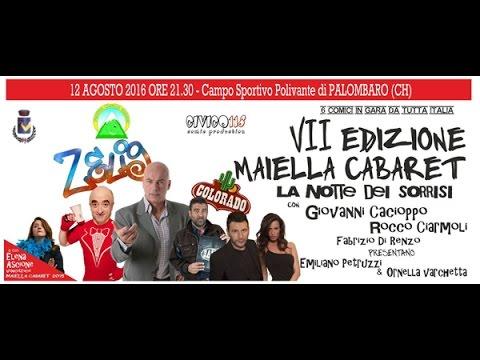 Maiella Cabaret 2016