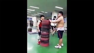 Классный прыжок, интересное видео